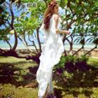 Sleeveless Ruffled Maxi Dress