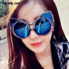 Oversized Cat-eyes Sunglasses