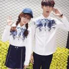 Couple Matching Printed Shirt