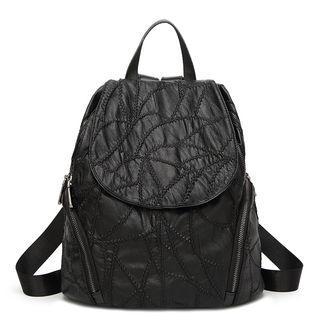 Side Zipper Backpack