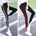 Stripe Trim Skinny Pants