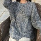 Fringed Distressed Sweater