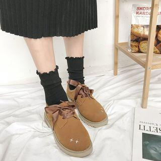 Ribbon Oxfords