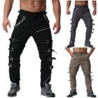 Belt-detail Harem Pants