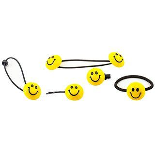 Smiley Face Hair Tie / Hair Clip