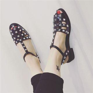 Studded Roman Sandals