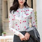 Plain / Heart Print Shirt