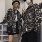 Couple Matching Leopard Shirt