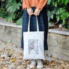 Sun Print Canvas Tote Bag