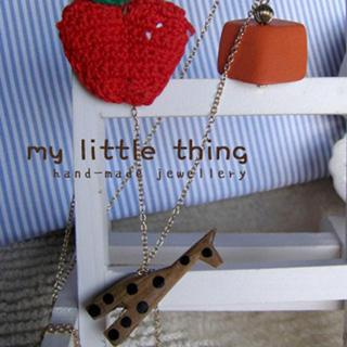 Sweetie Giraffe Apple Necklace