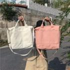 Canvas Tote Bag With Shoulder Strap