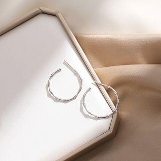 Sterling Silver Hoop Earrings - Earring