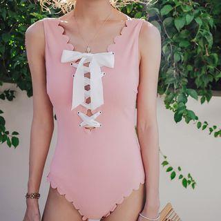 Lace-up Swimsuit (various Designs)