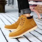 Fleece-lined Chukka Boots