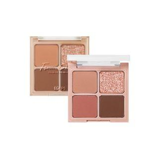 Eglips - Color Fit Eye Palette - 2 Types #01 From. Cotton