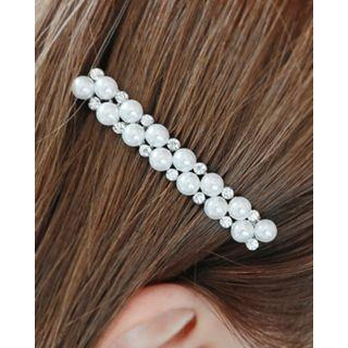 Faux-pearl Slim Hair Pin