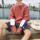 Inset Sleeve Pullover