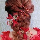 Bead Bridal Hair Pin