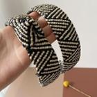Woven Wide Hair Band
