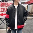 Loose-fit Printed Jacket