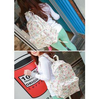 Floral Print Backpack