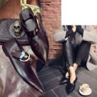 Pointy Buckled Flats