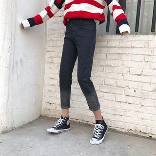 Gradient High Waist Jeans
