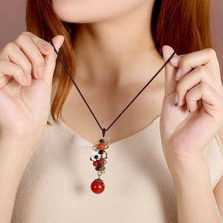 Agate Drop Necklace