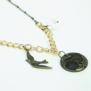 Vintage Style Necklace One Size