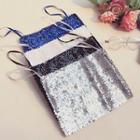 Spaghetti Strap Sequined Cropped Top