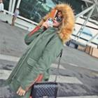Fleece Lined Hooded Parka
