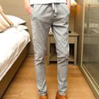 Drawstring Regular Fit Pants