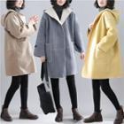 Hooded Pocket Coat