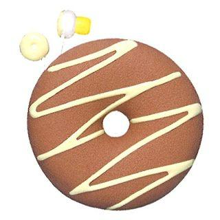 Zumreed Donuts Earphone (cord Wrap + Earphones) (milk Chocolate)