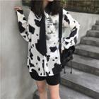 Milk Cow Print Shirt