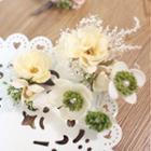 Set Of 5: Flower Hair Pin
