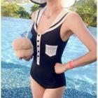 Collared Swimsuit