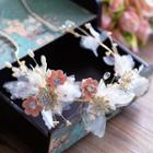 Wedding Rhinestone Floral Hair Clip