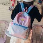 Embroidered Gradient Backpack
