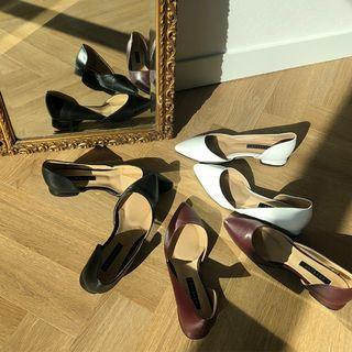 Colored Pointy-toe Flats