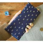 Printed Long Envelope Wallet