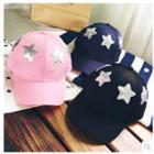 Star Sequined Baseball Cap