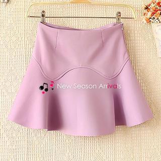 Ruffle A-line Skirt