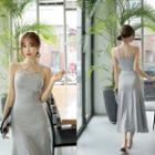Sleeveless Strappy Maxi Dress