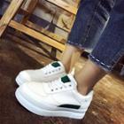 Hidden-wedge Platform Sneakers