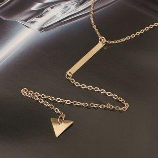 Dangle Choker Gold - One Size