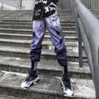 Patterned Gradient Harem Pants
