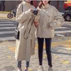 Button Trench Jacket / Trench Coat