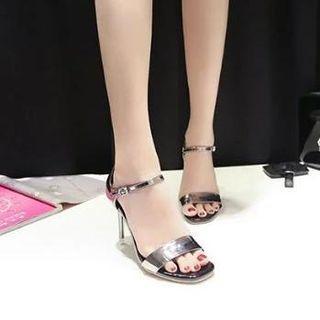 Peep-toe High-heel Sandals