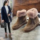 Hidden Wedge Snow Short Boots